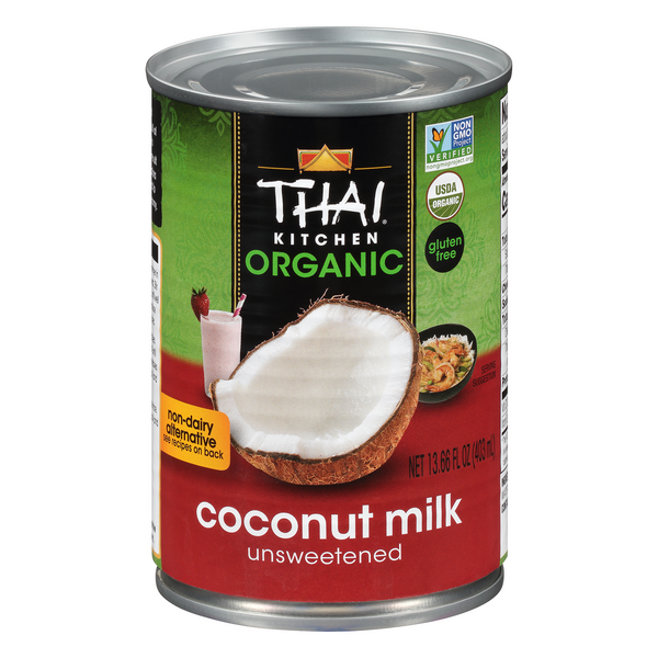 Thai Kitchen Coconut Milk Unsweetened Gluten Free Organic