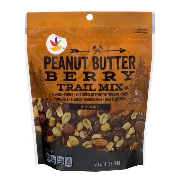Stop & Shop Sweet Trail Mix Peanut Butter & Berry