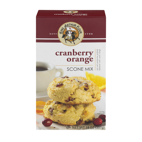 King Arthur Flour Scone Mix Cranberry Orange