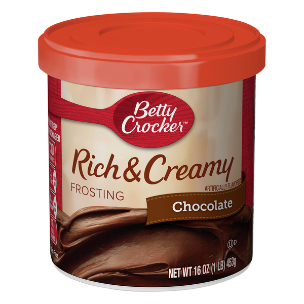 Betty Crocker Rich & Creamy Chocolate Frosting