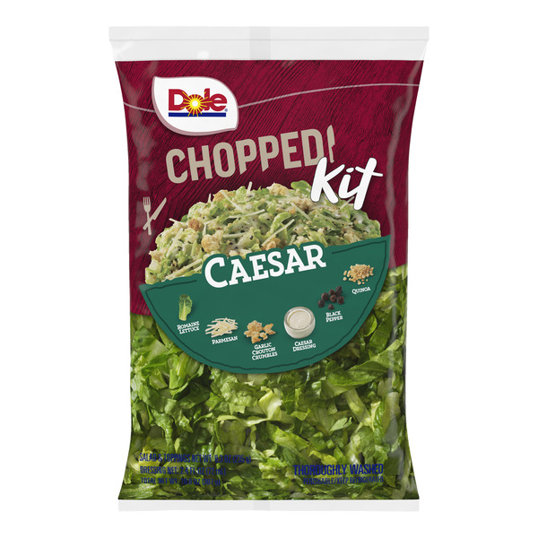 Dole Chopped Salad Kit Caesar
