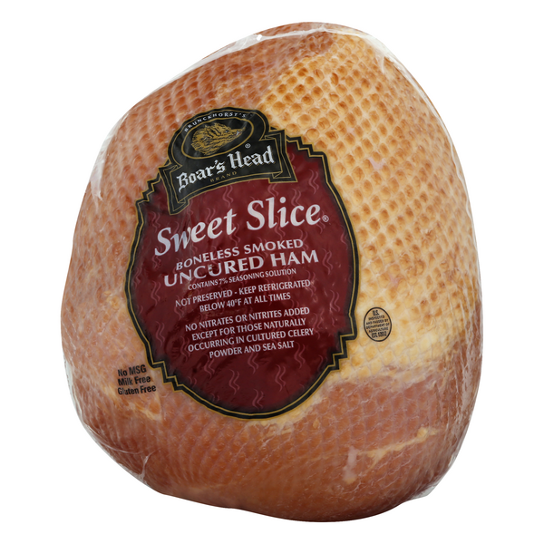 Boar's Head Deli Ham Sweet Slice Boneless Smoked (Regular Sliced)