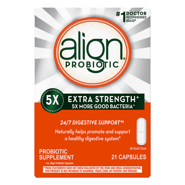 Align Probiotic Supplement for Digestive Health Extra Strength