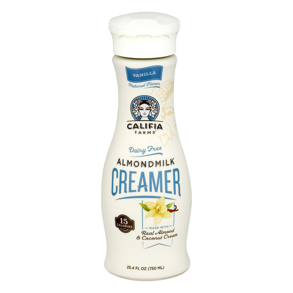 Califia Farms Almond Milk Creamer Vanilla Refrigerated