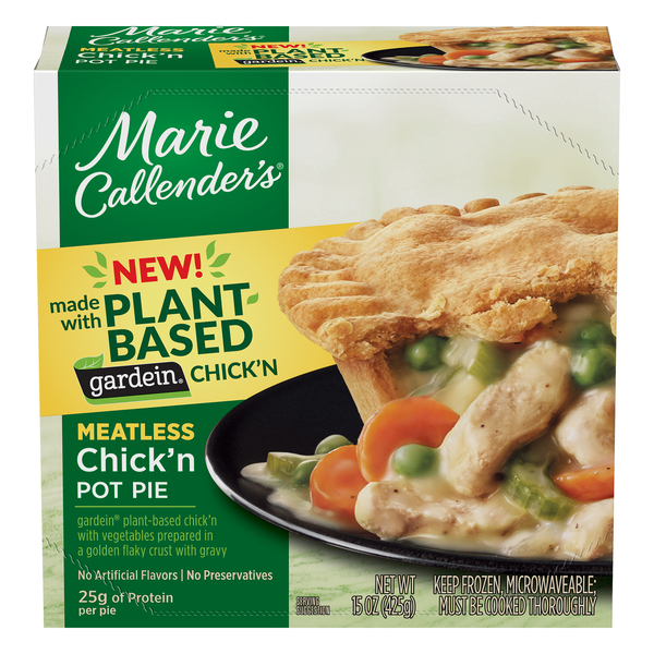 Marie Callender's Chick'n Pot Pie Plant Based