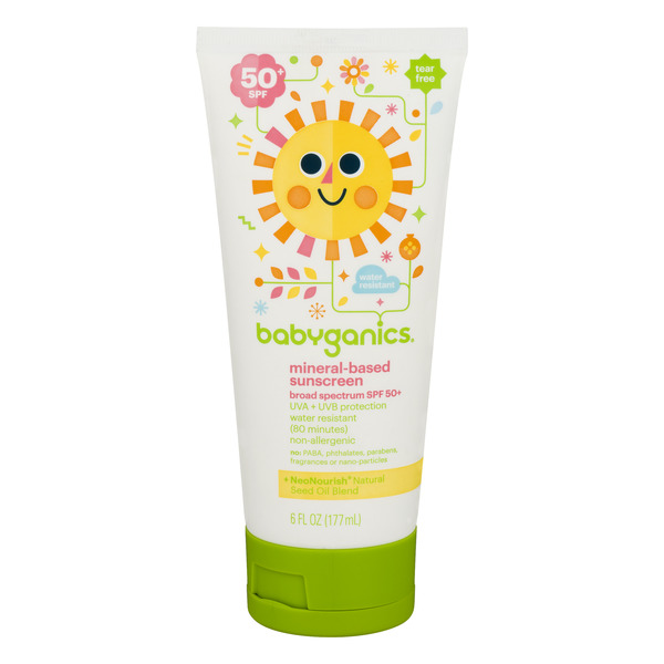 Babyganics Mineral-Based Sunscreen UVA/UVB Protection SPF 50+
