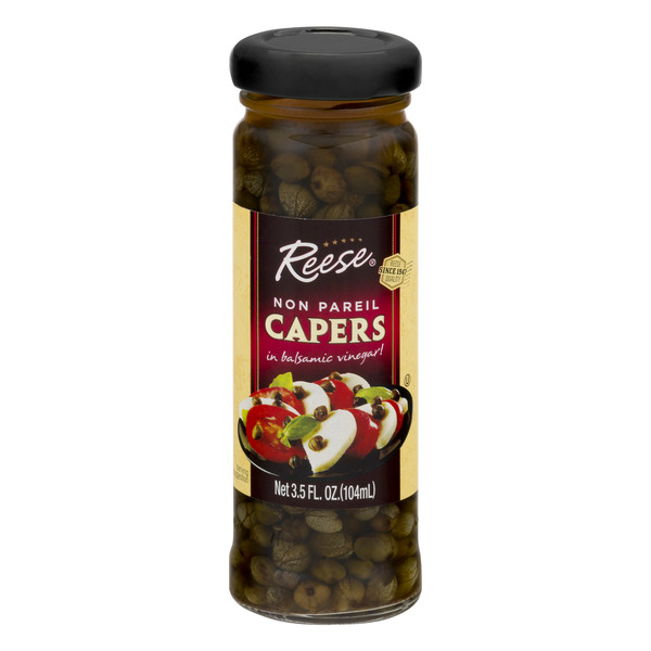 Reese Non Pareil Capers in Balsamic Vinegar