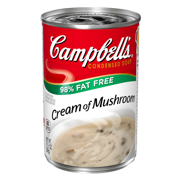 Campbell's Condensed Soup Cream of Mushroom 98% Fat Free