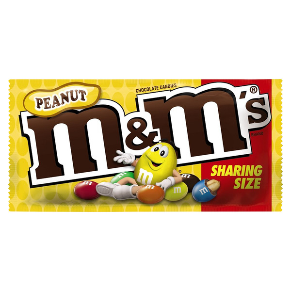 M&M's Peanut Chocolate Candies Sharing Size