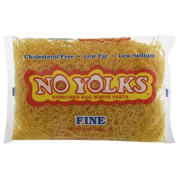 No Yolks Enriched Egg White Pasta Fine