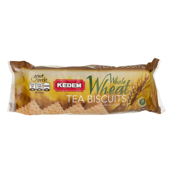 Kedem Tea Biscuits Whole Wheat