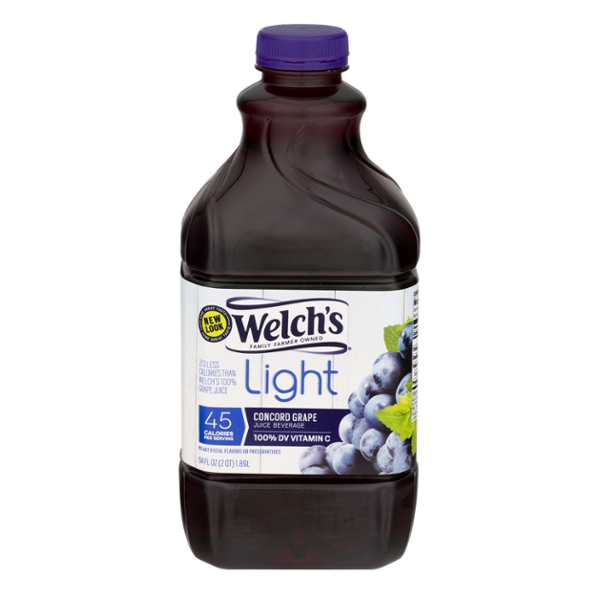 Welch's Concord Grape Juice Beverage Light
