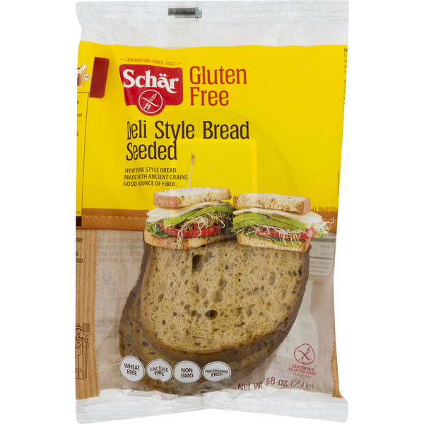 Schar Deli Style Bread Seeded Gluten Free