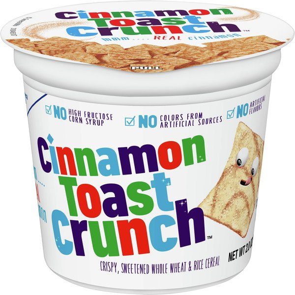 Cinnamon Toast Crunch Cereal Cup