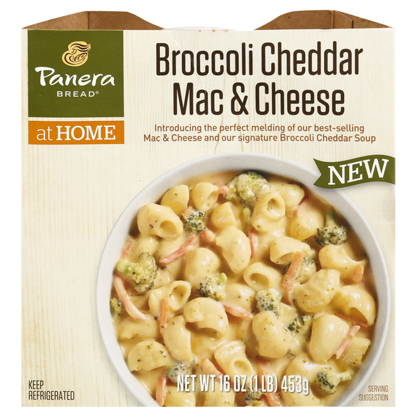Panera Bread at Home Soup Broccoli Cheddar Mac & Cheese