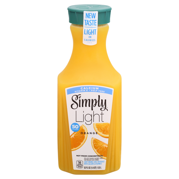 Save On Simply Light Orange Juice Pulp Free Order Online Delivery Martin S