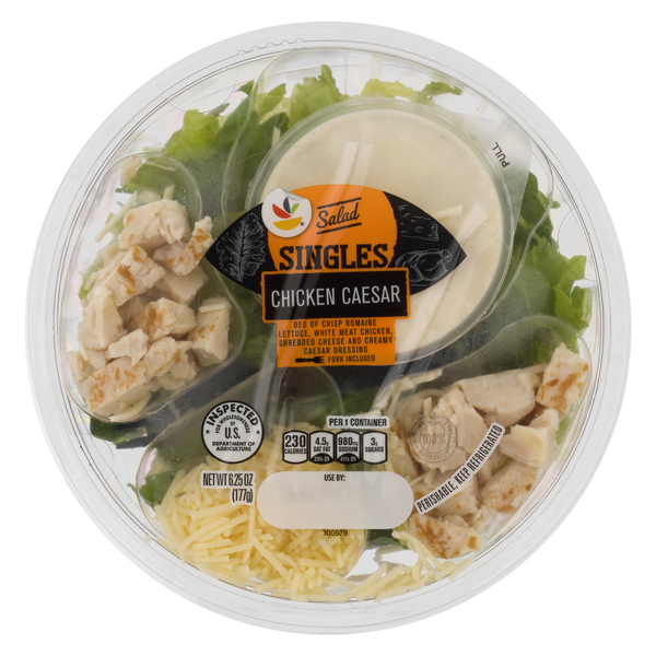 Stop & Shop Salad Bowl Chicken Caesar