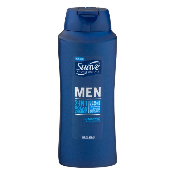 Suave Professionals Men 2 in 1 Shampoo + Conditioner Ocean Charge