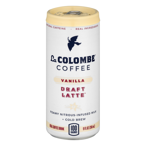 La Colombe Draft Latte Coffee Drink Vanilla
