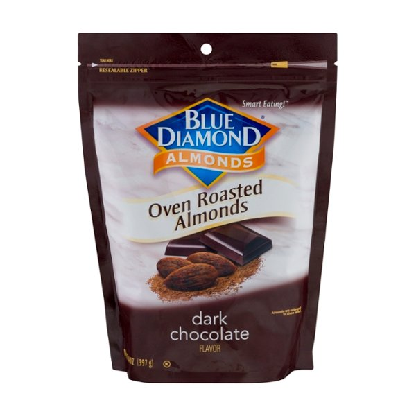 Blue Diamond Oven Roasted Dark Chocolate Almonds