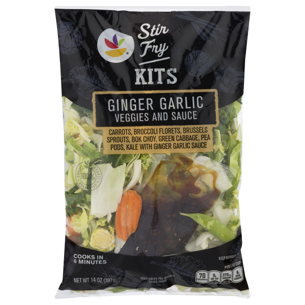 GIANT Stir Fry Kit Ginger Garlic (Sauce Included)