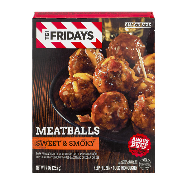 TGI Fridays Meatballs Sweet & Smoky