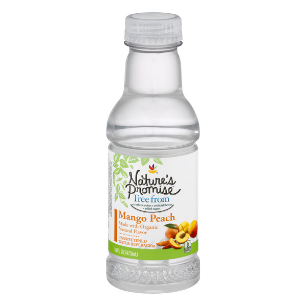 Nature's Promise Free from Flavored Water Beverage Peach Mango