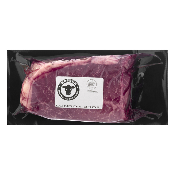 Roseda Farm Dry-Aged Black Angus Beef London Broil Local All Natural