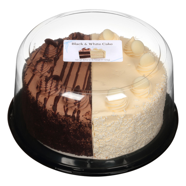 Rich Products Black & White Cake