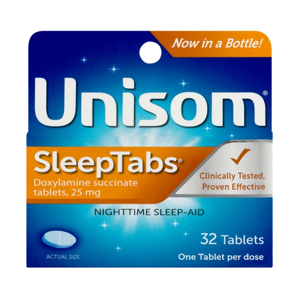 Unisom SleepTabs Nightime Sleep Aid Tablets