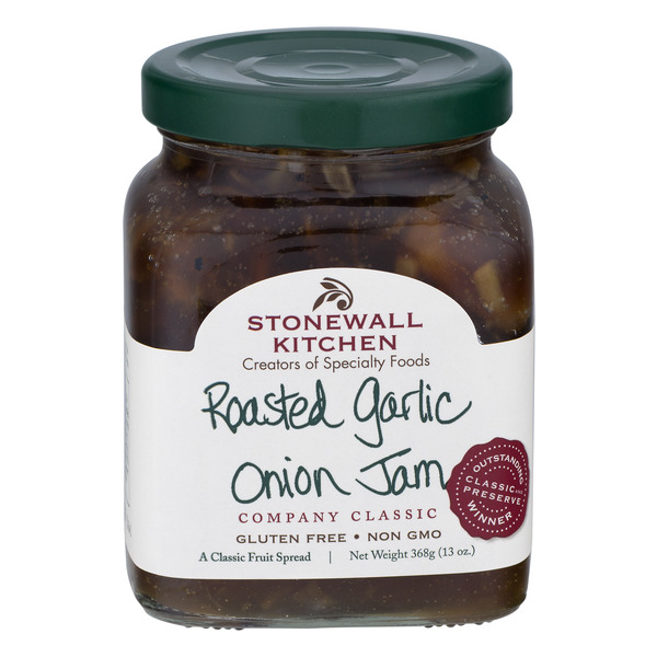 Stonewall Kitchen Roasted Garlic Onion Jam Gluten Free
