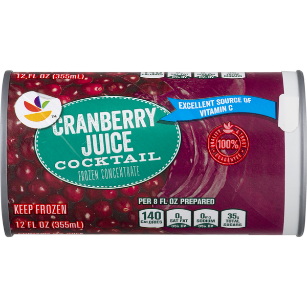 MARTIN'S Cranberry Juice Cocktail Concentrate All Natural Frozen