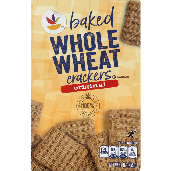 Giant Baked Crackers Whole Wheat Original