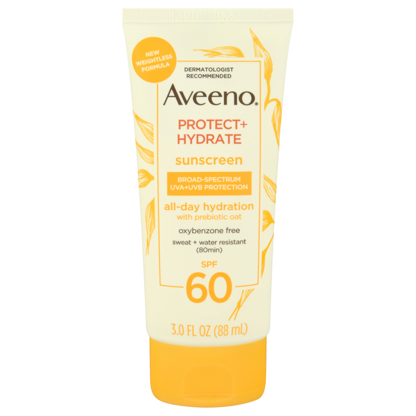 Aveeno Protect + Hydrate Sunscreen SPF 60