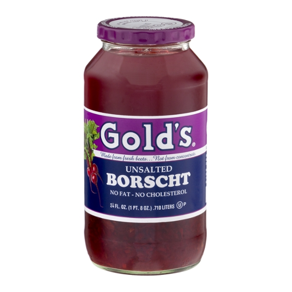 Gold's Borscht Soup Fat Free Unsalted Kosher for Passover