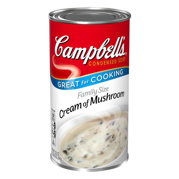Campbell's Condensed Soup Cream of Mushroom Family Size