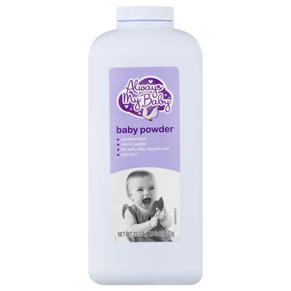 Always My Baby Baby Powder Paraben Free