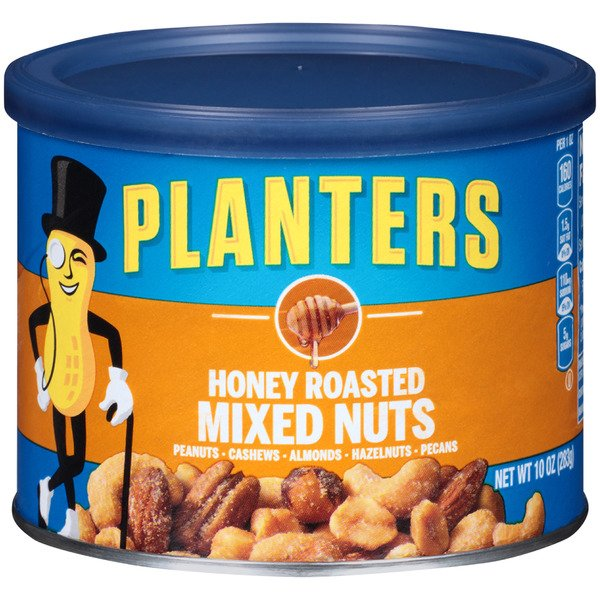 Planters Mixed Nuts Honey Roasted