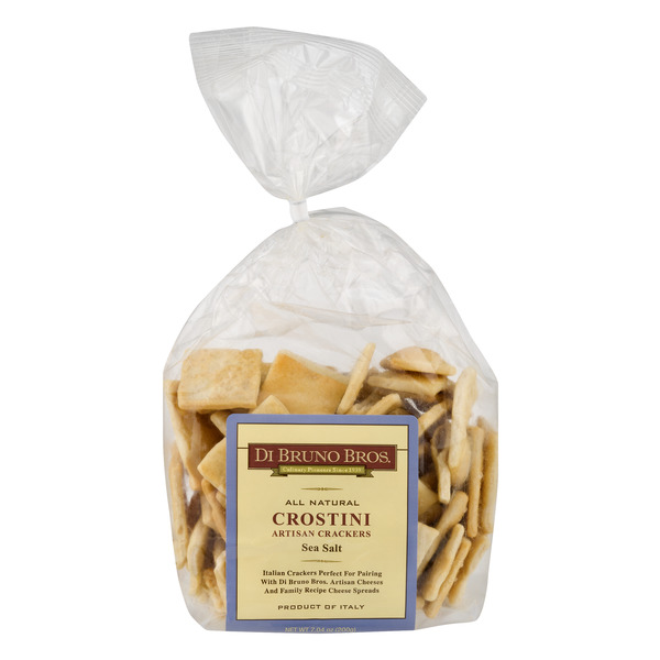 Di Bruno Bros. Crostini Artisan Crackers Sea Salt