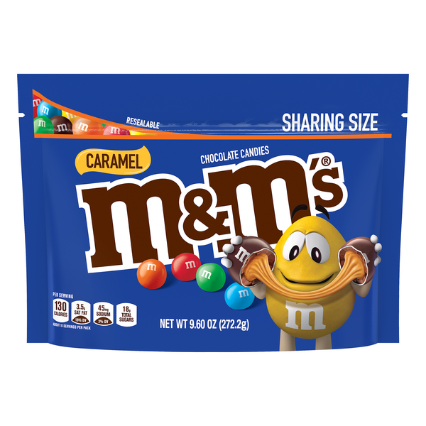 M&M's Chocolate Candies Caramel Sharing Size