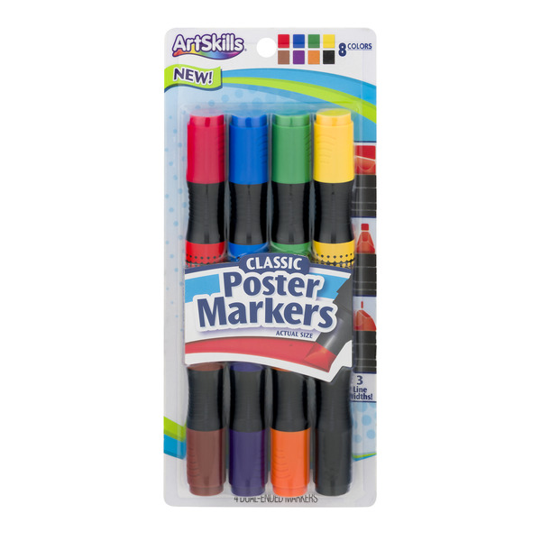 ArtSkills Classic Poster Dual-Ended Markers