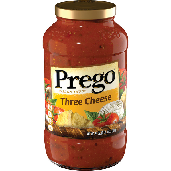 Prego Italian Sauce Three Cheese