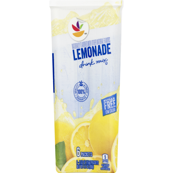 Giant Drink Mix Lemonade Sugar Free - 6 ct