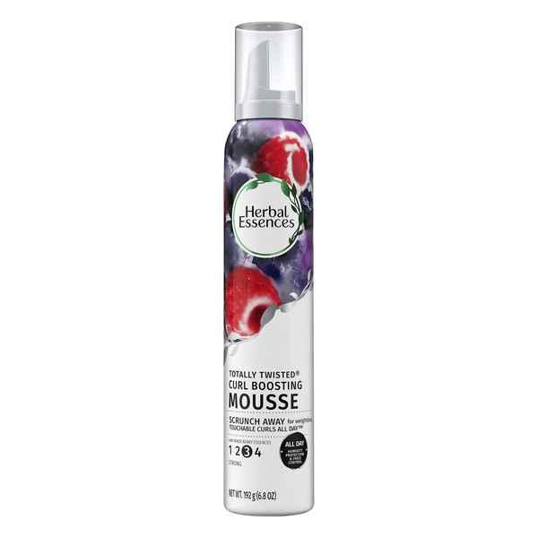 Herbal Essences Totally Twisted Mousse Curl Boosting