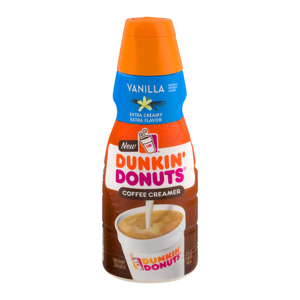 Dunkin' Coffee Creamer Vanilla Refrigerated