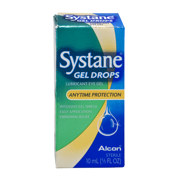Systane Lubricant Eye Gel Drops Anytime Protection