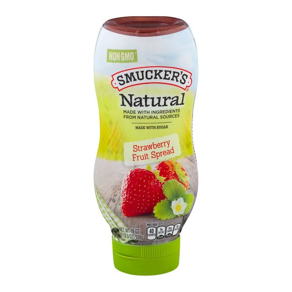 Smucker's Fruit Spread Strawberry Natural