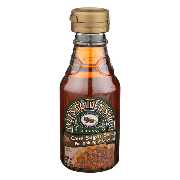 Lyle's Golden Syrup Original Cane Sugar Syrup for Baking & Cooking