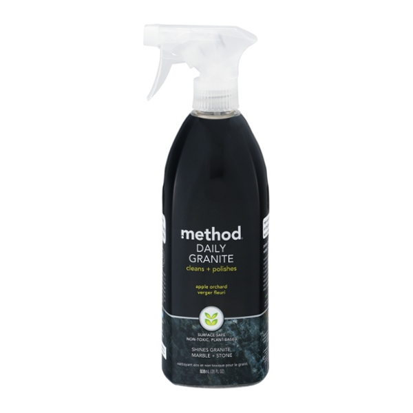 Method Daily Granite Stone & Marble Cleaner Apple Orchard Trigger Spray