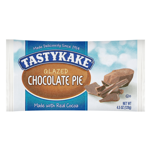 Tastykake Glazed Pie Chocolate